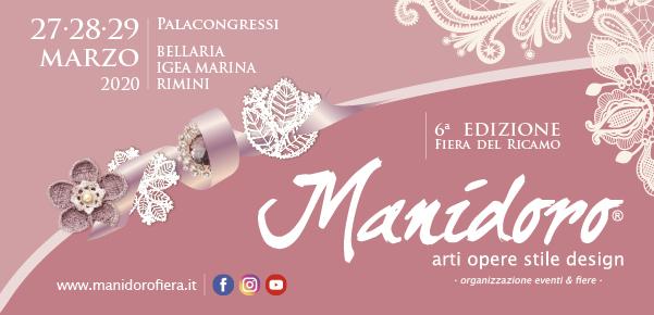 Calendario Fiere Creative 2020.Manidoro Fiera Di Ricamo Merletto Macrame